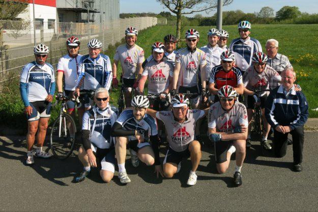 Musketier und Allemaal op de fiets vor der ersten gemeinsamen Tour