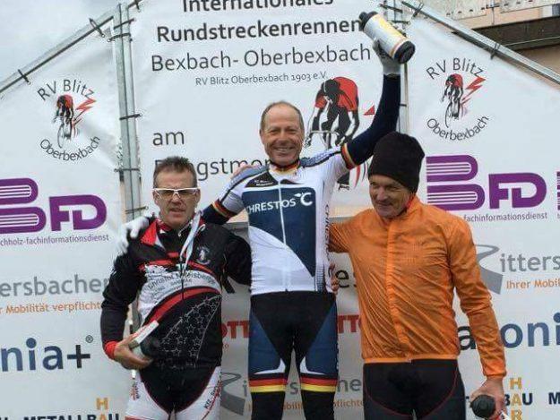 Jürgen Sopp gewann das Rennen der Klasse Senioren 3 in Oberbexbach