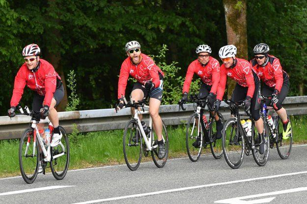 Der Wuppertaler Tri-Club gehörte mit zu den Teilnehmern unserer RTF.